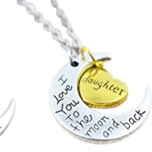 Daughter I Love You to The Moon Bracelet